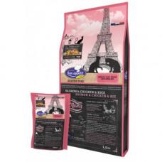 Bon Appétit  Gourmand holistic Безглютеновый холистик корм для взрослых привередливых кошек с лососем,курицей и рисом