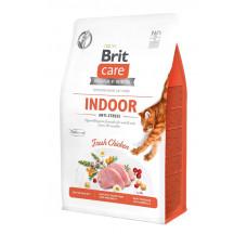 Сухой корм для кошек, живущих в помещении Brit Care Cat GF Indoor Anti-stress