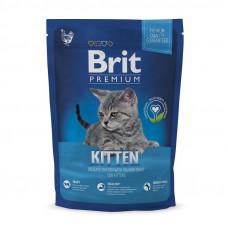Сухой корм для котят Brit Premium Cat Kitten с курицей