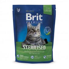 Сухой корм для стерилизованных кошек Brit Premium Cat Sterilized