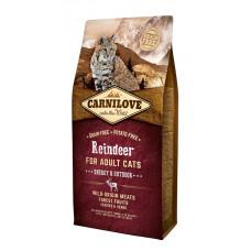 Carnilove Cat Raindeer - Energy & Outdoor сухой корм для активных кошек с олениной и мясом кабана