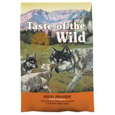 Taste of the Wild High Prairie puppy для щенков и взрослых с бизоном и олениной