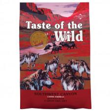 Taste of the Wild Southwest Canyon Canine для щенков и взрослых собак с диким кабаном