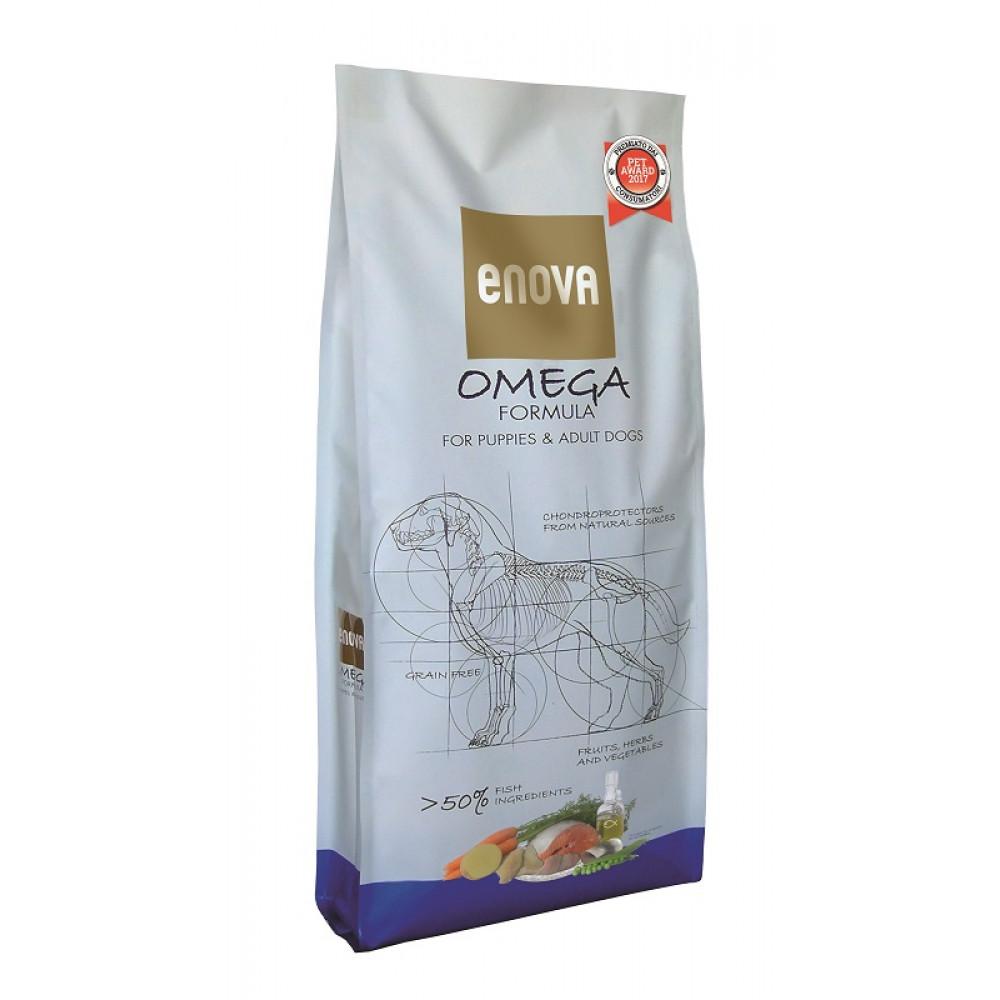 ENOVA Omega Formula корм корм для щенков и взрослых собак с рыбой