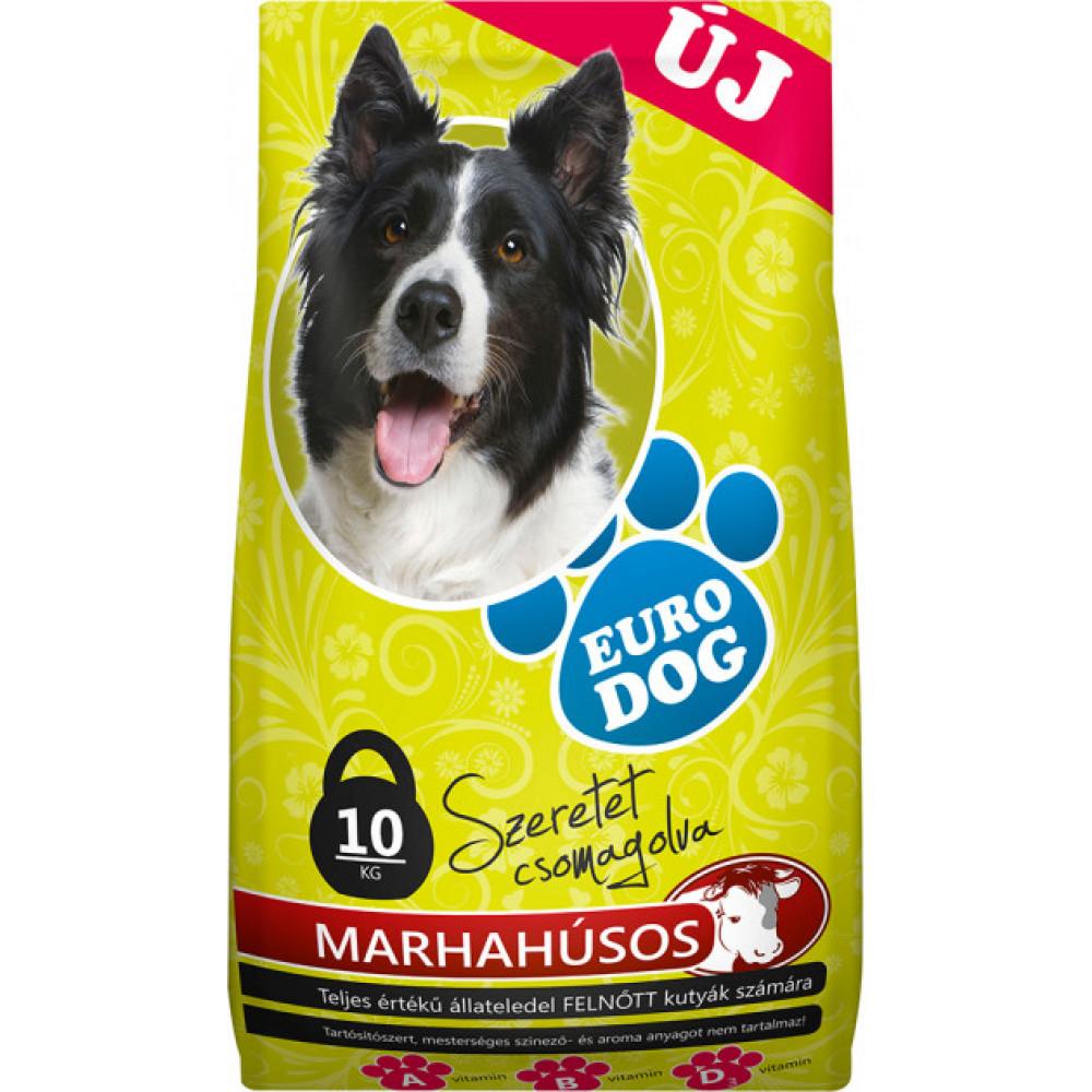 EuroDog сухой корм для собак со вкусом говядины 10кг