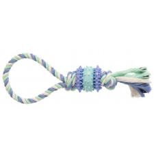Игрушка GimDog Дент Плюс веревка с термопластичной резиной  30см