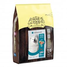 Home Food Dog Adult Medium гипоаллергенный сухой корм для взрослых собак средних пород форель с рисом