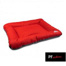 Лежак для собак ASKOLD красно-серый