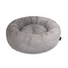 Лежак для собак SOFT серый