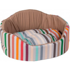 Лежак для собак Coral бежевый