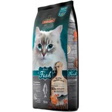 Leonardo Adult Fish cухой корм для кошек с рыбой
