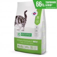 Nature's Protection Urinary Formula-S сухой корм для взрослых стерилизованных котов и кошек для профилактики и лечения МКБ с мясом птицы