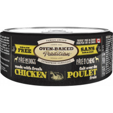 Oven-Baked Tradition беззерновой паштет для собак со свежим мясом курицы