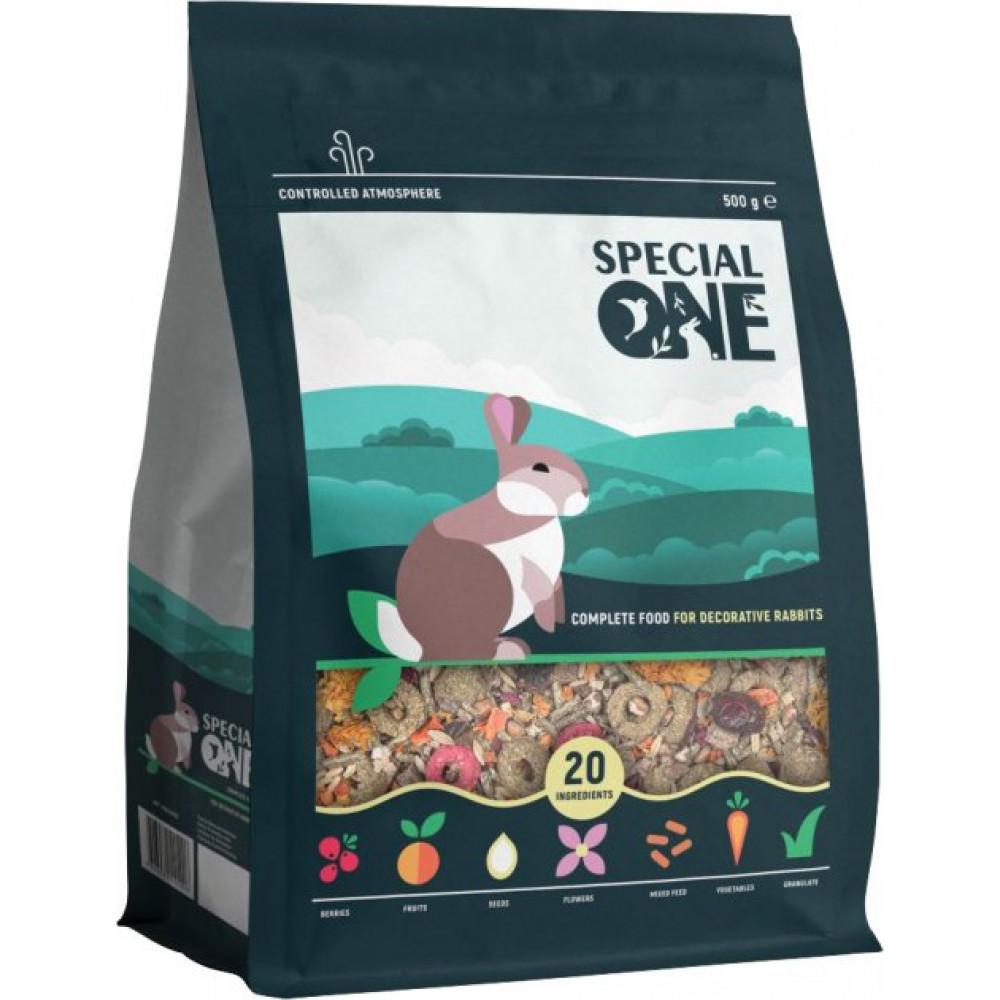 Special One полнорационный корм для декоративных кроликов 500 г