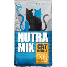 Nutra Mix Seafood корм для кошек с морепродуктами 9.07 кг