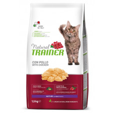 Trainer Natural Mature Cat сухой корм для кошек с курицей
