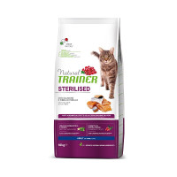Trainer Natural Adult Sterilised with Salmon сухой корм для стерилизованных кошек с лососем