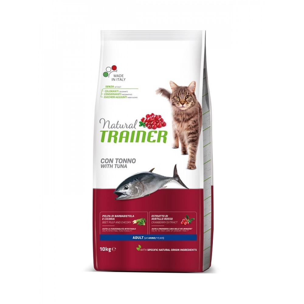 Trainer Natural Adult with Tuna сухой корм для кошек с тунцом