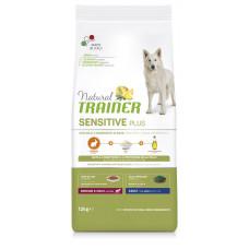 Natural Trainer Dog Sensitive Plus Adult MM With Rabbit  корм для собак средних и крупных пород с кроликом