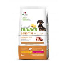 Natural Trainer Dog Sensitive Puppy&Junior Mini With Duck корм для щенков с уткой 2 кг
