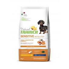 Natural Trainer Dog Sensitive Adult Mini With Salmon корм для собак мелких пород с лососем