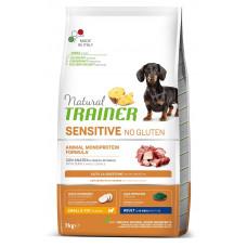 Natural Trainer Dog Sensitive Small&Toy Adult Mini With Duck корм для собак мелких пород с уткой