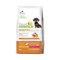 Natural Trainer Dog Sensitive Puppy&Junior Mini With Salmon корм для щенков мелких пород с лососем
