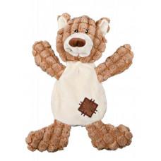 Мягкая игрушка для собак Trixie Медведь с заплаткой плюш 30см