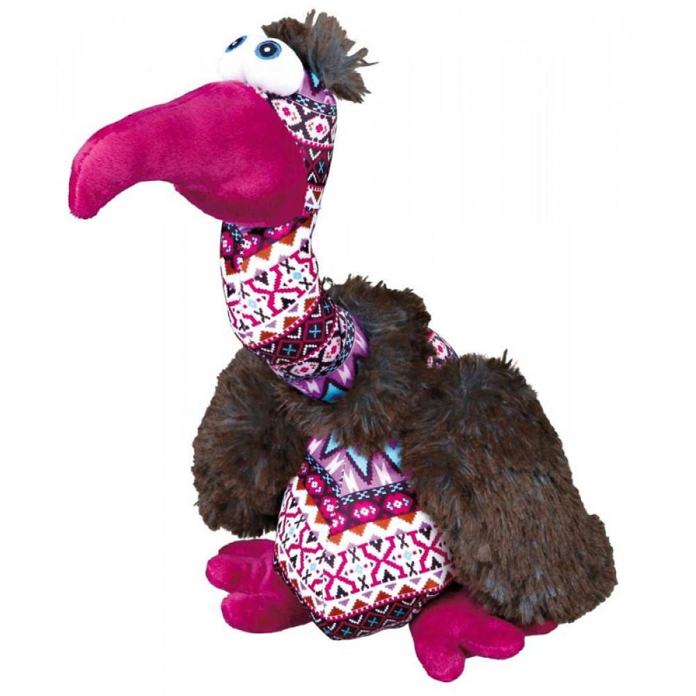 Мягкая игрушка для собак Trixie Гриф плюш/ткань 33см